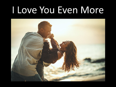 I Love You Even More Cover