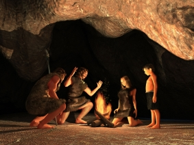Cave Dwellers from Long Ago