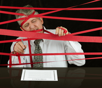 Dealing with Government Red Tape