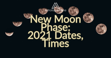 Monthly new Moon phase: best chance for fresh starts. First 2021 new Moon comes Jan. 12-get all new Moon dates now, plan ahead.