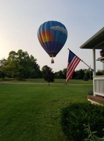 Michigan residents are rediscovering the fun stuff to do near their homes like a Hot Air Balloon ride