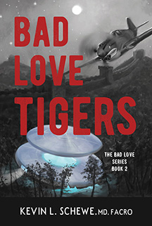 Dr. Kevin Schewe, Author of Bad Love Tiger, Book 2 in Bad Love Series