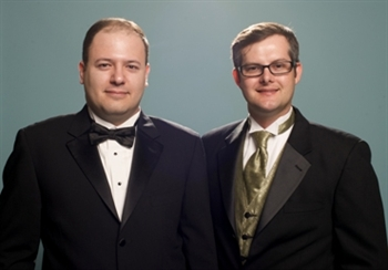 (from left to right) Owners Marc R Kassouf and S Nathan DePetris
