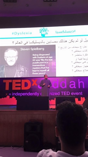 Speaking at TEDxJeddah
