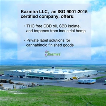 Kazmira 380K sq.ft. facility