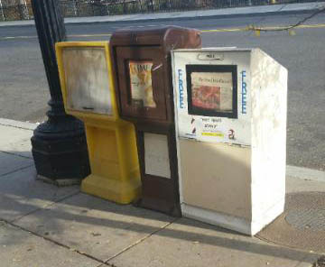 Free Newspaper Boxes