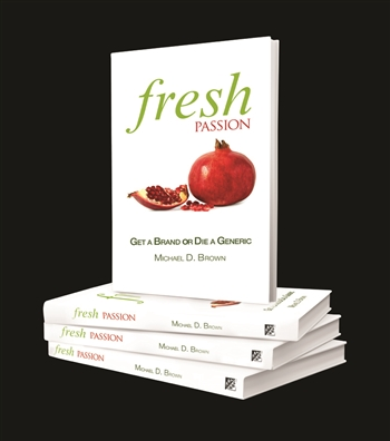 Michael D. Brown -Fresh Customer Service - Fresh Passion -Get A Brand or Die a Generic