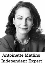 Antoinette Matlins -- Author and Professional Gemologist