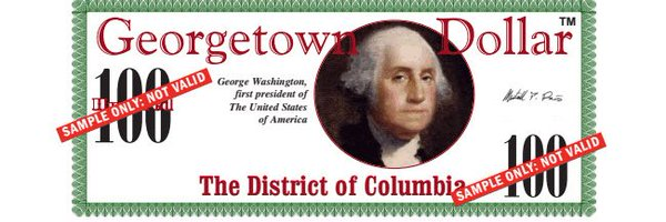 Georgetown Dollar(tm) - Gift Currency
