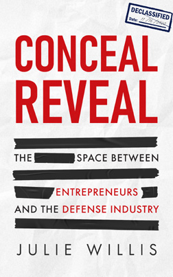 Julie Willis - Author of 'Conceal Reveal - The Space Between Entrepreneurs and the Space Industry'