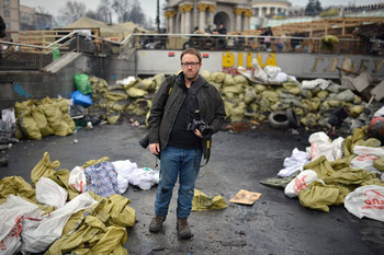 Photojournalist Zach Roberts