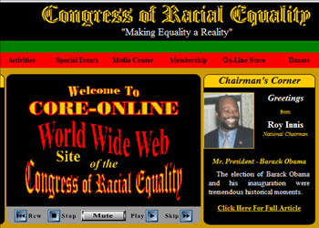 Congress of Racial Equality -- CORE