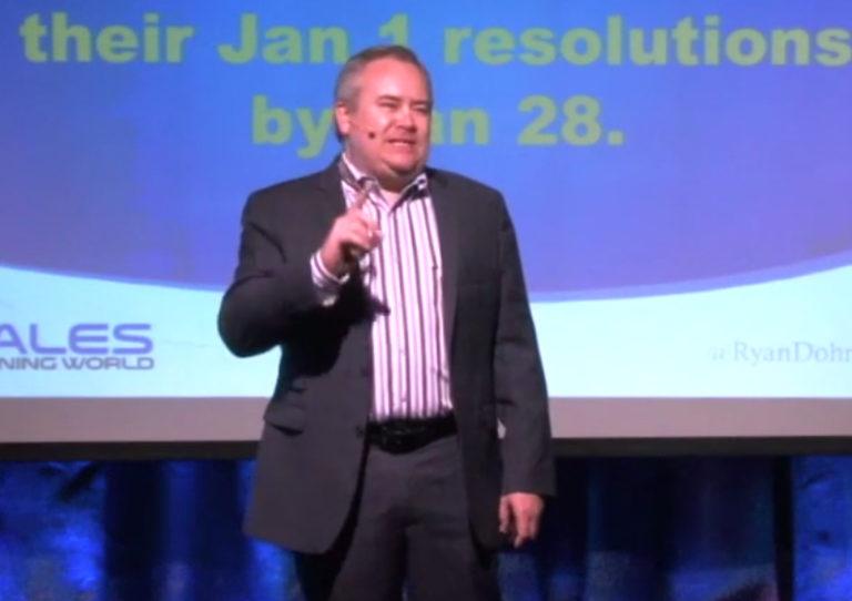 Ryan Dohrn -- Motivational Sales Meeting Speaker